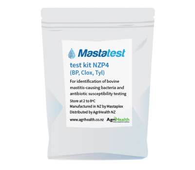 Mastatest NZP4 test kit